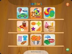 Sort It Out 1 ($0.00) Sort it out – Tidying up the nursery has never been more fun. Teach your child about sorting and arranging with this fun, sorting application. This application helps develop conceptualization, visual perception and fine motor skills. With parental assistance it can also develop language skills.