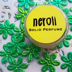 Neroli Solid Perfume by daisycakessoap on Etsy, $3.00