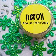 Neroli Solid Perfume by daisycakessoap on Etsy, $3.00