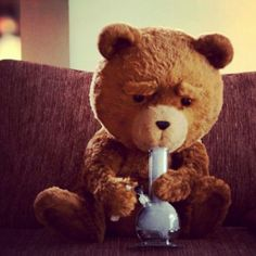 Ted knows how it's done #obviously