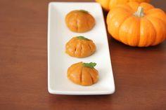 Steamed Pumpkin Mochi | Kirbie's Cravings | A San Diego food blog