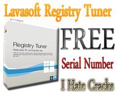 Free Download Lavasoft Registry Tuner With Serial Number