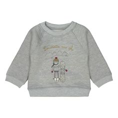 31b963ca8ee James Louisette Sweatshirt Heather grey