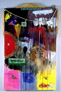 Robert Rauschenberg artwork like the bright colours on this one Robert Rauschenberg, Richard Diebenkorn, Jackson Pollock, Camille Pissarro, Abstract Expressionism, Abstract Art, Arthur Dove, James Rosenquist, Modern Art