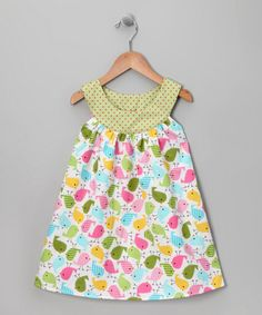 On #Zulily, but made with made with Urban Zoologie Spring Little Birds (Ann Kelle for Robert Kaurman Fabrics)