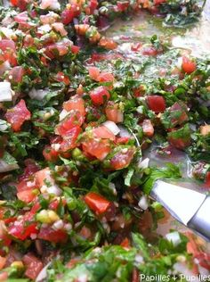 Lebanese Tabbouleh - Projets à essayer - Raw Food Recipes