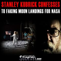 Stanley Kubrick Confesses to Faking Moon Landings For NASA