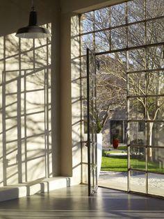 Steel doors/windows via * Patricia Gray | Interior Design Blog™