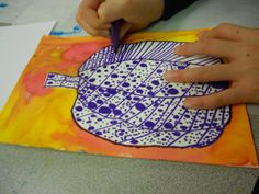 Explorations in Art: Creating pumpkins in the style of Yayoi Kusama