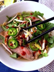 Step-by-step instructions how to make homemade Beef Phở (and other fun recipes) on www.soupbowlrecipes.com