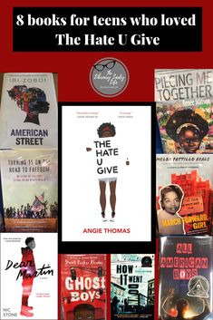 8 books for teens who loved The Hate U Give - Best Book Recommendations 2019 Book Club Books, Book Lists, Good Books, Books To Read, Books By Black Authors, African Literature, Teen Library, Reading Rainbow, English Book