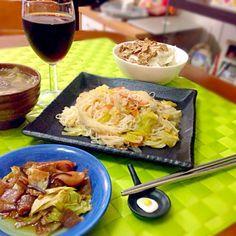 今夜の深夜の晩餐 - 69件のもぐもぐ - フィリピン風ソーメンチャンプルー by manilalaki