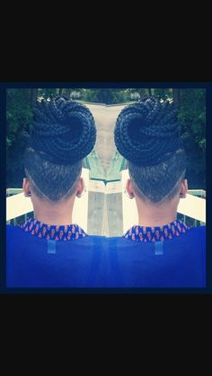 braids and undercut