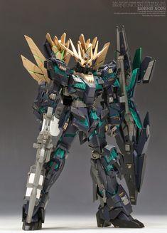 GUNDAM GUY: HGUC 1/144 RX-0[N] Banshee Norn - Customized Build