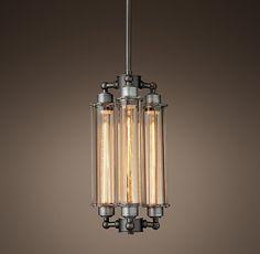 Grand Edison Glass 3-Bulb Pendant