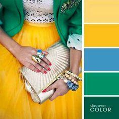 Verde, Azul, Amarillo