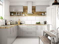 Orlando Grey Gloss kitchen | Wickes.co.uk #GreenEnergyUtilitySavings
