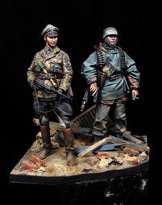 German couple SS Mantis Miniatures 1:35 Painter: David Hernanz