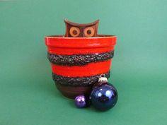 Pottery planter FAT LAVA design / Blumentopf von ShabbRockRepublic
