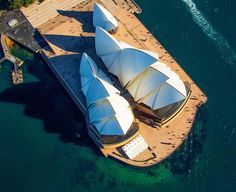 Stunning aerial shot of the Opera House. Photo from aerial image stock library @airviewonline  #sydneyoperahouse #bennelongpoint #sydneyharbour #themostbeautifulharbourintheworld #aerialphotography #theylooklikeants #aerialsydney #sydney #xploresydney by xplore_sydney