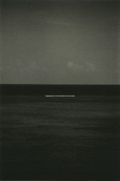 Masao Yamamoto. Centered line. Horizion divides it in half. Expand and Contract inspiration.