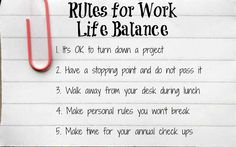 work life balance quotes the hippest