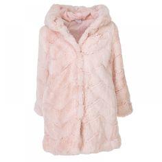 Γούνινο παλτό Εβίτα 199164 (6-16 Ετών) Fur Coat, Jackets, Fashion, Down Jackets, Moda, Fashion Styles, Fashion Illustrations, Fur Coats, Fur Collar Coat