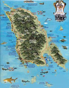Koh Chang map