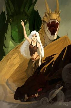 Fire and Blood by AlexandraVo
