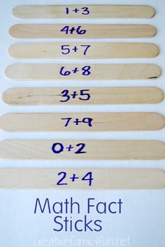 This easy game makes learning math facts fun!