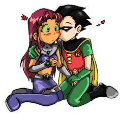 robin and starfire - Google Search