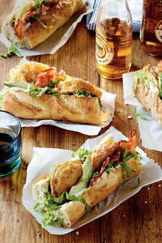 Characterized today by bread that's equal parts crispy on the outside and soft on the inside (plus, by the wide variety of available fillings ranging from seafood to meat) Po' Boys are a NOLA staple.