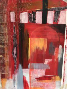 """Untitled"" Megan Morris Inspired by Robert Rauschenberg Mixed media"
