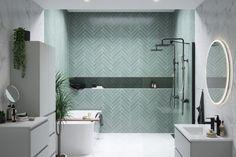 Home Interior Living Room Herringbone tile pattern and marble bathroom Interior Living Room Herringbone tile pattern and marble bathroom