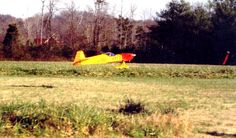 My dad, now a retired engineer, used to take my brother and me to a huge radio-control airplane show every year when we were growing up. We'd see model planes like this one take off and soar above the trees. My dad had built several airplanes, too, and often entered the show.