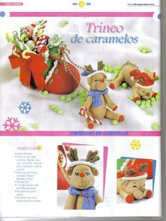 Modela Pasta Flexible Navidad - gavi - Álbumes web de Picasa