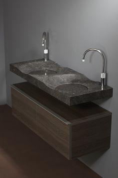 Belgian bluestone bathroom sink model Bowl 120