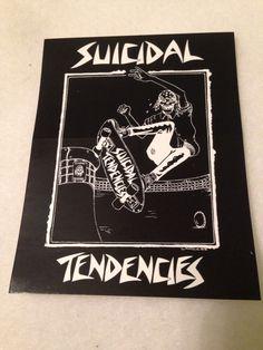 Dogtown Lance Mountain Skateboard Sticker for Suicidal Skates