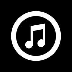 App Musica, Apps, Icones Facebook, Black Song, Black App, App Anime, Apple Icon, Application Icon, Cute App