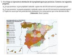 2007. Propiedad agraria por provincias.