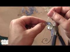 Several approaches for how to make a wire Seahorse.  Includes links and a video.  #Wire #Jewelry #Tutorials