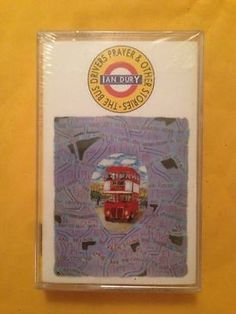 Ian Dury The Bus Driver's Prayer And Other Stories Cassette Brand New rock