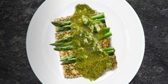 Tempeh Chimichurri with Asparagus