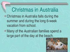 Christmas In Australia facts Christmas Trivia, Christmas Worksheets, Christmas Photos, Christmas And New Year, Christmas Crafts, Australia Facts, Australia Funny, Cairns Australia, Aussie Christmas