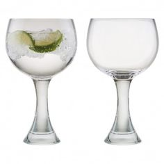 Personalised Engraved Large Tanqueray Gin Balloon Copa Glass In Luxury Gift Box