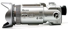 """Sony DSC-F717 - Camerapedia.wikia.com---2002 update of the F707, the first consumer 5 meg camera,Zeiss,5X ( 38-190 mm equivellent) fast (f 2-2,4)  lens, Just Say """"NO"""" to Digital"""