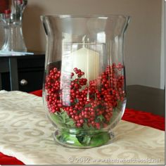 christmas centerpieces Stunning Indoor Christmas Candle Inspirations For Christmas Table Christmas Candle Decorations, Holiday Centerpieces, Christmas Candles, Christmas Home, Magical Christmas, Centerpiece Ideas, Christmas 2019, Ideas For Christmas, Graduation Centerpiece