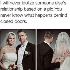 Honestly why do people think when couples post pics they're perfect? What relationship doesn't bump heads?Be real,not talk shit about the couple who isn't afraid of judgement. Fake people are haters.