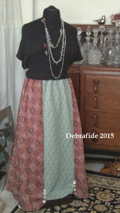 Debrafide: Maxi Skirt: Debrafide TWO To ONE!
