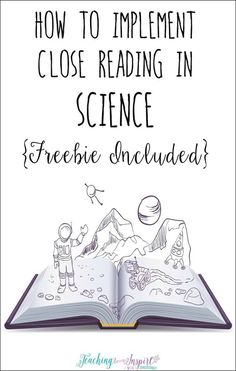 Using a close reading strategy in science is a perfect way for students to comprehend difficult science text and deepen their understanding. This post breaks down how to use close reading with any science text and has a FREE science passage with close rea Science Lessons, Science Education, Teaching Science, Science Activities, Science Ideas, Teaching Ideas, Physical Science, Science Resources, Science Chemistry